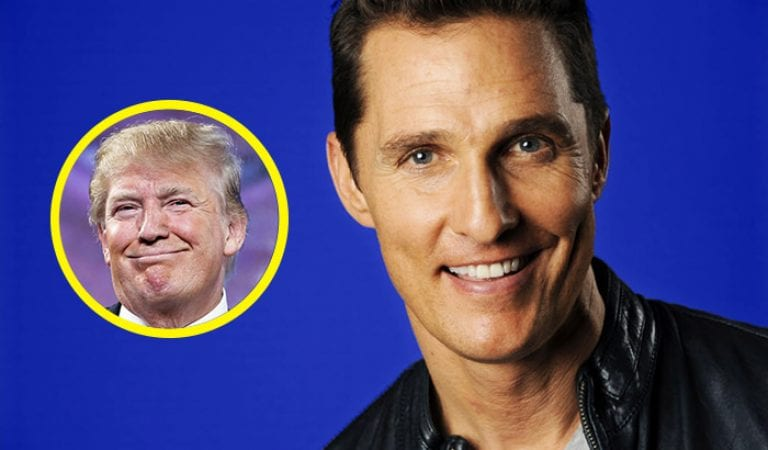 Matthew McConaughey:  It's Time to Embrace Trump!