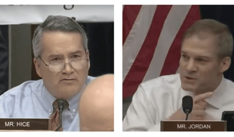 """Republicans Jody Hice and Jim Jordan Steal The Show At Michael Cohen's """"Shameful Mockery"""""""
