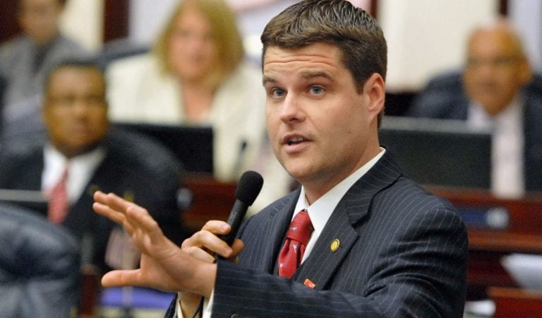 WATCH: Rep. Gaetz Orders Dems To Stop Harassing The Trump Family!