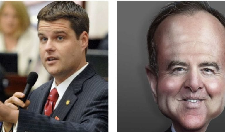 Rep. Matt Gaetz Has Filed A Formal Ethics Complaint Against Adam Schiff