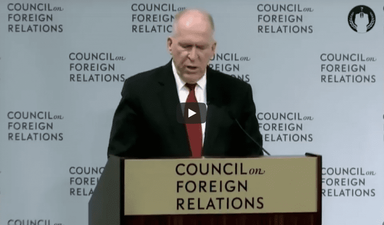 Chemtrails Now ADMITTED By John Brennan Himself!