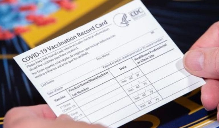 Strange: Immunization Action Coalition Will Issue Covid-19 ID Cards  For American's To Carry Around