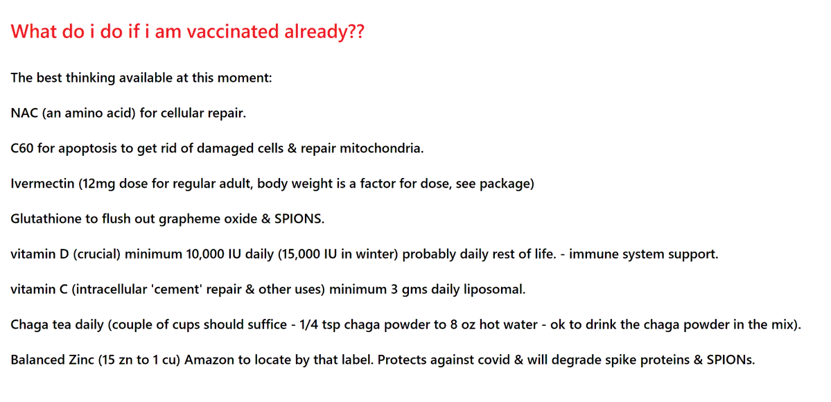 """IMMUNITY BOOST: Clif High Gives You His Exclusive """"Vaxx Repair Protocol"""" E8h1sEtVIAUNkgY"""
